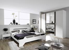 chambre design adulte chambre adulte design blanche et grise rudie destockage promotions