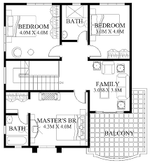 Second Floor House Design by Modern House Design 2012005 Eplans