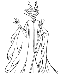 Maleficent Free Printable Coloring Pages