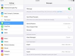 iPad tip turn off Messages if you share your iPad iPhone J D