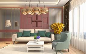 herunterladen hintergrundbild interior aus wohnzimmer retro
