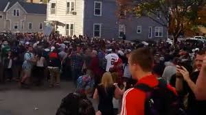 Pumpkin Festival Keene Nh 2014 by Police Students Face Off During Pumpkin Festival The Washington