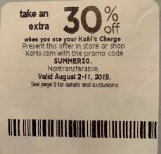 Pin On Kohls 30 Off Coupon Code