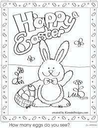 Free Easter Bunny Coloring Pages To Print 16