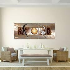 huis wandbilder bilder abstrakt figuren vlies leinwand