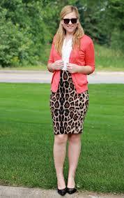 leopard print skirt rachel u0027s lookbook