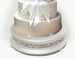 White Diamond Cake Stand