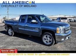Used Chevrolet Silverado 1500 for Sale in Midland TX