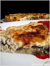 cuisiner les l馮umes autrement quiche à l aubergine courgette et thon a l orée des douceurs