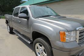 Used 2013 GMC SIERRA DENALI DIESEL CREW 2500 4X4 STEEL GREY Truck ... Gmc Pressroom United States Images 2013 Sierra Denali Hd White Ghost 2014 3500 Dually With 26 American Force 1500 4wd Crew Cab Longterm Arrival Motor Trend Top Speed Photo Image Gallery Versatile Limited Slip Blog 2015 2500hd First Drives Review 700 Miles In A 2500 4x4 The Truth About Cars Truck On 28 Forgiatos 1080p Youtube