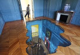It Seems Like A Normal Living Room But When I See The Floor My