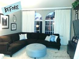 Living Room Makeovers Diy by Diy Living Room Makeover Pinterest Bold And Bright Before After