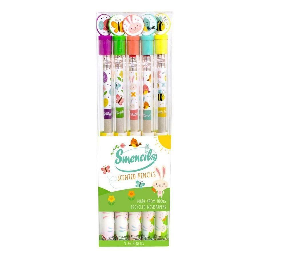 Graphite Smencils Spring Themed Scented Pencils