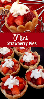 Surprise your guests and family with this unique take on a traditional dessert Mini Strawberry