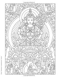 A Coloring Page From Tibetan Designs Book