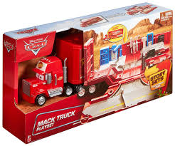 Disney Cars | Mack Truck Transporter Playset