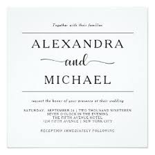 Black And White Wedding Invitations 100