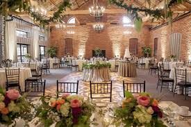 Wedding Reception With Lush Floral Accents At Cork Factory Hotel