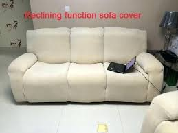 buy dual reclining sofa slipcover double recliner slipcovers cover