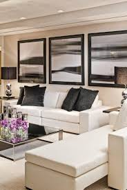 Black Leather Couch Living Room Ideas by Best 25 White Leather Sofas Ideas On Pinterest Living Room