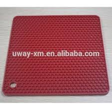 Uw smd 002a Square Silicone Pet Food Mat For Dogs Dog Food Mat