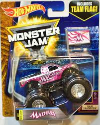 100 Madusa Monster Truck Toy Amazoncom Hot Wheels Jam 2017 Release 310 Team Flag