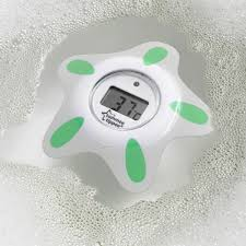 4moms Bathtub Celsius To Fahrenheit by Tommee Tippee Closer To Nature Bath And Room Thermometer Kiddicare Com
