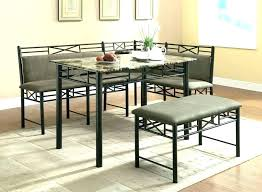 Dining Nook Set Corner Breakfast Astounding Sets And Bench Room Table Tripod