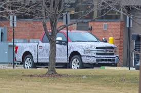 100 Ford Truck F150 Electric Pickup Spied For First Time
