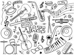 Jazz By Alexander Pokusay On Fotolia JazzColoring