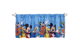 Mickey Mouse Bathroom Set Amazon by Amazon Com Disney Mickey Mouse Playground Pals Curtain Panel