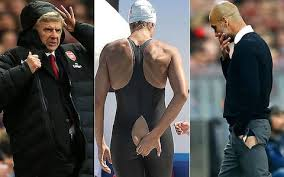 Arsene Wenger Has Had Issues With His Coats Swimmers Problems Their Swimsuits And Now