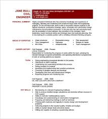 Civil Project Engineer Resume In PDF