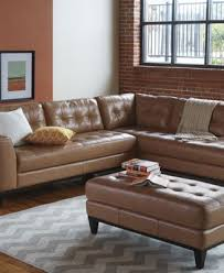 Llario Leather Sectional Living Room Furniture Collection