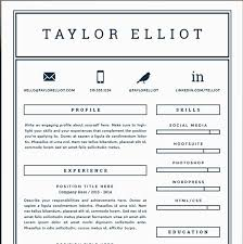 Simple One Page Resume Template Pages 41 For