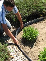 Ideas Mulch Edging Home Depot Landscape Edging