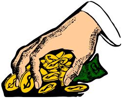 Take money clipart