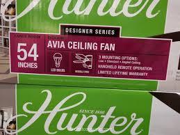 Hunter Contempo Ceiling Fan by Costco Hunter 54 Inch Contempo Ceiling Fan Review Item 729655