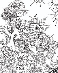 FREE Coloring Page For Adults At Free Printable Doodle Pages
