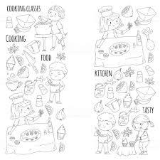 Coloriage Livre Ustensiles De Cuisine Cours De Cuisine Cours Pour