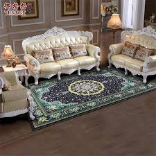 Europe American Carpets For Living Room Home Bedroom Rugs And Classic Luxury Study Floor