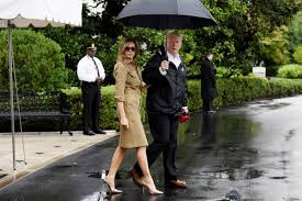 defiant melania heads to texas in snakeskin pumps new york post