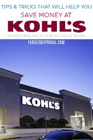 Shopping At Kohl's: Tips, Tricks, & Coupon Codes ...