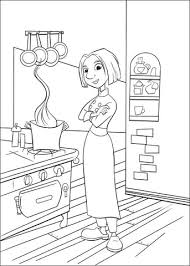 Click To See Printable Version Of Colette In The Kitchen Coloring Page