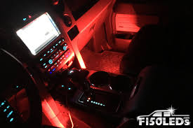 2010 - 2014 F150 Raptor LED Interior Ambient Lights - F150LEDs.com