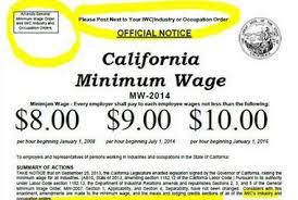 impact of minimum wage