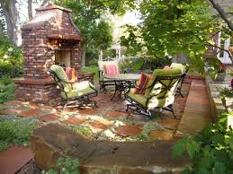 Inexpensive Patio Floor Ideas by Patio Stone Cheap Patio Floor Ideas With Light Green Padded