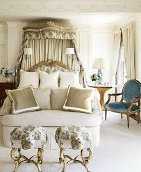Vintage Gold White Bedroom Ideas