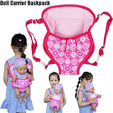 Amazoncom SUJING Baby Doll Carrier Backpack Doll Accessories Cute