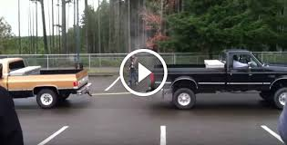 Grown Men StuffFord Vs. Chevy Truck Pull
